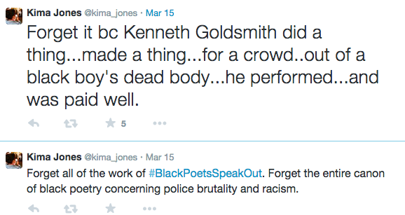 Why Are People So Invested In Kenneth Goldsmith Or Is