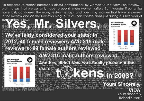 VIDAresponsegraphic Meme VIDA Robert Silvers NY Review of Books