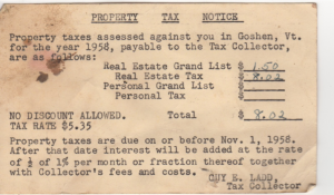 property taxes_1958