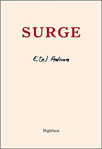 VIDA Reviews! Surge by Etel Adnan