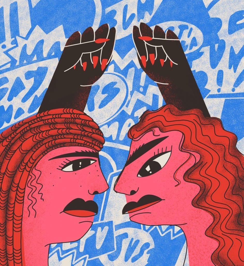 Leaders by Ellissa Nicholle Schatz; Issue 3 Cover